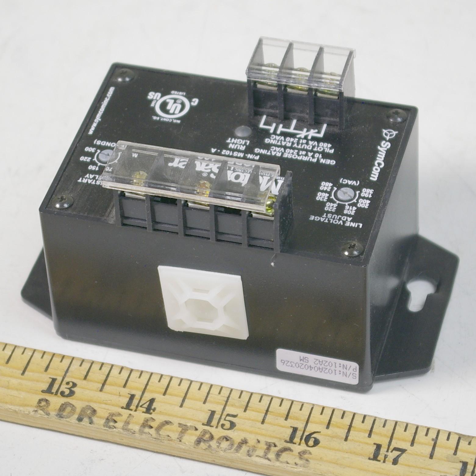 Symcom Motorsaver 102 3 Phase Motor Saver 190 480vac